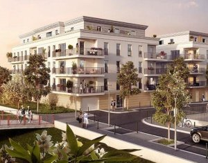 Achat / Vente appartement neuf Chelles proche quartier de l'Aulnoy (77500) - Réf. 1827