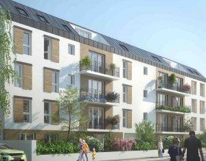 Achat / Vente appartement neuf Choisy-le-Roi en face du parc de la Mairie (94600) - Réf. 258