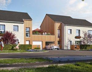 Investissement locatif : Appartement en loi Pinel  Claye-Souilly écoquartier du Bois des Granges (77410) - Réf. 5429
