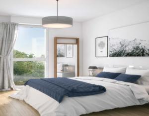 Investissement locatif : Appartement en loi Pinel  Clichy-sous-Bois à 100 m du Raincy (93390) - Réf. 5292