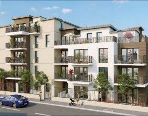 Investissement locatif : Appartement en loi Pinel  Clichy-sous-Bois proche tramway T4 (93390) - Réf. 4266
