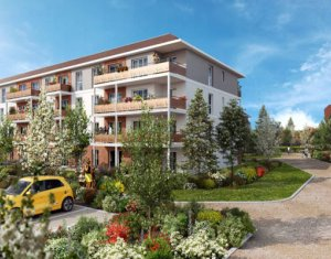 Investissement locatif : Appartement en loi Pinel  Dammarie-les-Lys au coeur du parc du Manoir (77190) - Réf. 5692