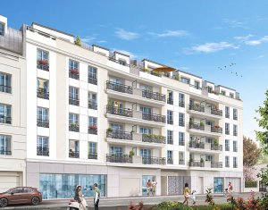 Achat / Vente appartement neuf Drancy avenue Jean Jaurès (93700) - Réf. 2192