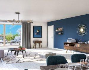 Investissement locatif : Appartement en loi Pinel  Epinay-sur-Seine proche RER C (93800) - Réf. 5376