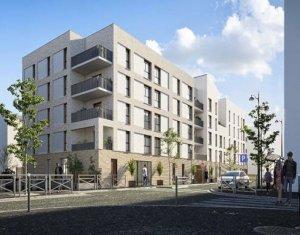 Investissement locatif : Appartement en loi Pinel  Évry-Courcouronnes écoquartier proche RER D (91000) - Réf. 5897