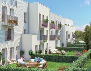 Achat / Vente appartement neuf Fleury-Mérogis quartier des Joncs Marins (91700) - Réf. 1184