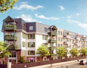 Achat / Vente appartement neuf Franconville à 400m de la gare Franconville le Plessis Bouchard (95130) - Réf. 1129