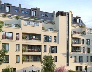 Achat / Vente appartement neuf Gagny proche RER E (93220) - Réf. 3873