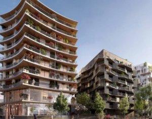 Investissement locatif : Appartement en loi Pinel  Issy-les-Moulineaux écoquartier Léon Blum (92130) - Réf. 3467
