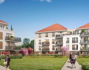 Investissement locatif : Appartement en loi Pinel  Jouy-le-Moutier quartier Eguerets-Bruzacques (95280) - Réf. 2103