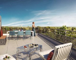 Achat / Vente appartement neuf Juvisy-sur-Orge proche parc (91260) - Réf. 1289