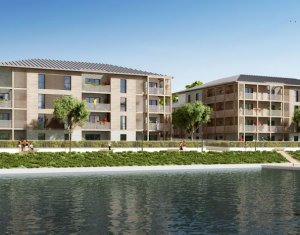 Achat / Vente appartement neuf L'Isle-Adam en bordure d'un port de plaisance (95290) - Réf. 255