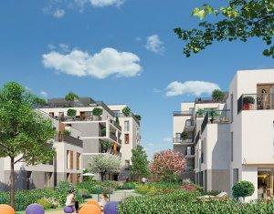 Achat / Vente appartement neuf La Courneuve proche métro 7 (93120) - Réf. 407