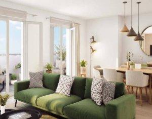 Investissement locatif : Appartement en loi Pinel  Le Blanc-Mesnil proche commodités et écoles (93150) - Réf. 4219