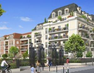 Achat / Vente appartement neuf Le Blanc-Mesnil proche du Parc Jacques Duclos (93150) - Réf. 2508