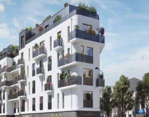 Investissement locatif : Appartement en loi Pinel  Le Bourget à 3min à pied du RER B (93350) - Réf. 5820