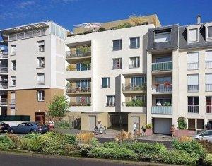 Achat / Vente appartement neuf Le Bourget Grand Paris proximité futures lignes métros 16 & 17 (93350) - Réf. 607