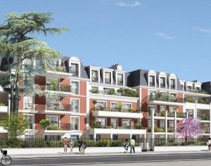 Achat / Vente appartement neuf Le Plessis-Trévise quartier du centre historique (94420) - Réf. 1633