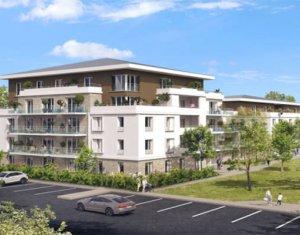 Achat / Vente appartement neuf Lieusaint à deux pas du centre commercial Carré Sénart (77127) - Réf. 5855
