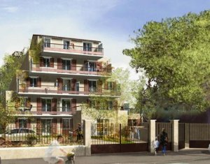 Achat / Vente appartement neuf Livry-Gargan quartier de Sully-vauban (93190) - Réf. 313
