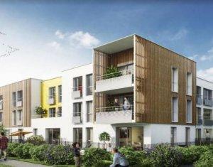 Investissement locatif : Appartement en loi Pinel  Méry-sur-Oise cœur centre-ville (95540) - Réf. 3911