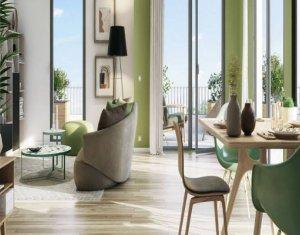 Achat / Vente appartement neuf Moissy-Cramayel au cœur de l'écoquartier de Chanteloup (77550) - Réf. 5290