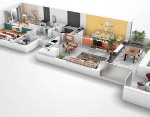 Achat / Vente appartement neuf Morangis proche Square Condorcet (91420) - Réf. 5746