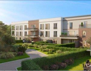 Investissement locatif : Appartement en loi Pinel  Nanteuil-lès-Meaux proche centre-ville (77100) - Réf. 3082