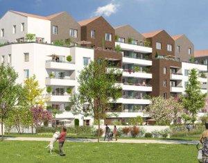 Achat / Vente appartement neuf Neuilly-sur-Marne proche Parc Maison Blanche (93330) - Réf. 2659