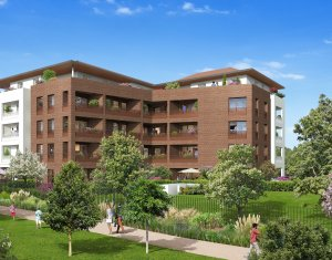 Achat / Vente appartement neuf Neuilly-sur-Marne proche RER A et RER E (93330) - Réf. 3370
