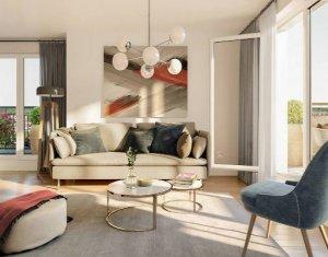 Achat / Vente appartement neuf Nogent-sur-Marne proche RER A (94130) - Réf. 4249