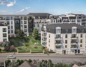 Achat / Vente appartement neuf Noisy-le-Grand 700 mètres du cœur de ville (93160) - Réf. 2644