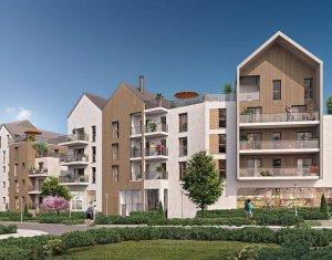 Investissement locatif : Appartement en loi Pinel  Noisy-le-Grand proche des bords de Marne (93160) - Réf. 6266