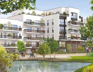 Achat / Vente appartement neuf Noisy-le-grand quartier résidentiel Clos d'Ambert (93160) - Réf. 2181