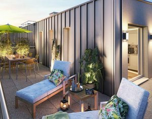 Investissement locatif : Appartement en loi Pinel  Noisy-le-Sec proche de Paris (93130) - Réf. 4298