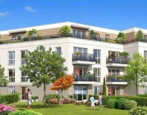 Achat / Vente appartement neuf Pontault-Combault en face du parc des Jardins d'Aimé (77340) - Réf. 2542