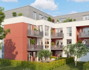 Achat / Vente appartement neuf Pontault-Combault proche groupe scolaire Jean Moulin (77340) - Réf. 3964