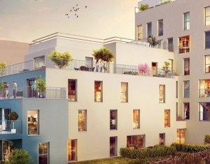 Achat / Vente appartement neuf Programme immobilier neuf à Aubervilliers proche centre-ville (93300) - Réf. 2193