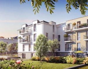 Achat / Vente appartement neuf Quincy-sous-Sénart proche gare RER D (91480) - Réf. 1381