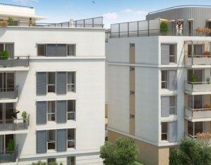 Achat / Vente appartement neuf Rosny-sous-bois 600 m du RER cœur de la vieille ville (93110) - Réf. 429