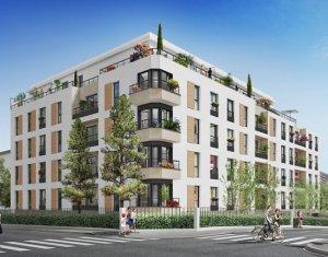 Achat / Vente appartement neuf Rosny-sous-Bois proche hôtel de ville (93110) - Réf. 3428