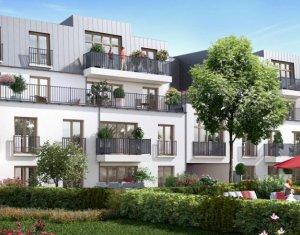 Achat / Vente appartement neuf Rosny-sous-bois proche RER et commerces (93110) - Réf. 1495