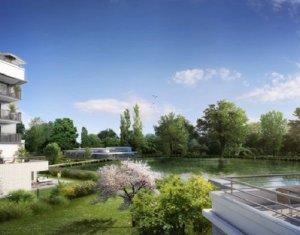 Achat / Vente appartement neuf Rueil-Malmaison centre-ville face au lac (92500) - Réf. 1634