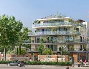 Achat / Vente appartement neuf Saint-Cloud face au jardin des Avelines (92210) - Réf. 4016