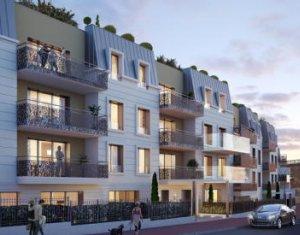 Investissement locatif : Appartement en loi Pinel  Saint-Cloud proche stade des Coteaux (92210) - Réf. 2788