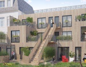Achat / Vente appartement neuf Saint-Denis centre-ville piétonnier (93200) - Réf. 2892