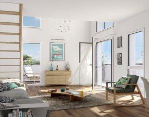 Achat / Vente appartement neuf Saint-Denis éco-quartier Universeine (93200) - Réf. 1247