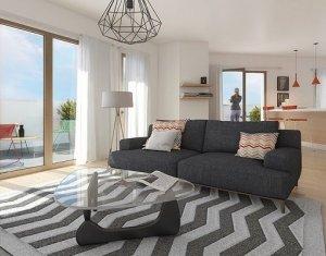 Achat / Vente appartement neuf Saint-Denis quartier Brise Echalas (93200) - Réf. 614