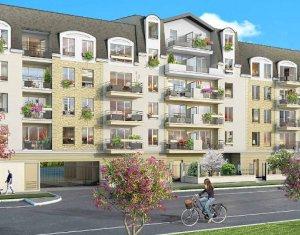 Achat / Vente appartement neuf Saint-Fargeau-Ponthierry à 700 mètres du RER D (77310) - Réf. 3934