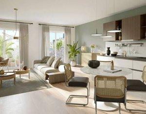 Achat / Vente appartement neuf Saint-Ouen au pied de la ligne 14 (93400) - Réf. 5953